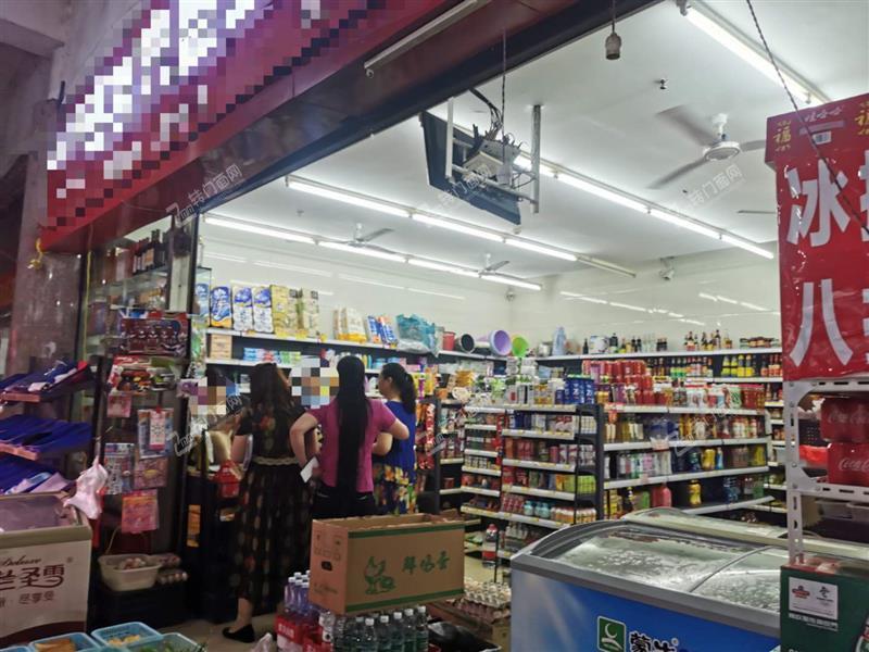 急转万人小区营业额9000临街转角超市