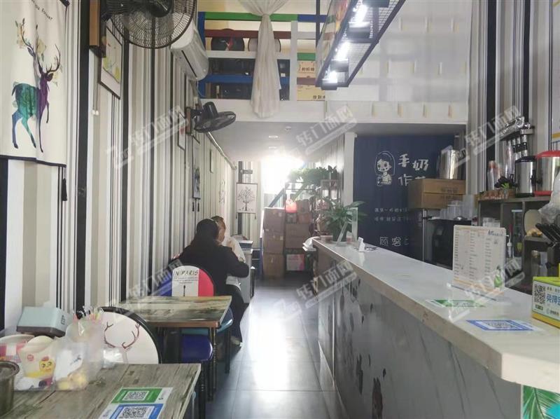 开发区天骄小学正对面隆泰华庭小区门口奶茶店转让