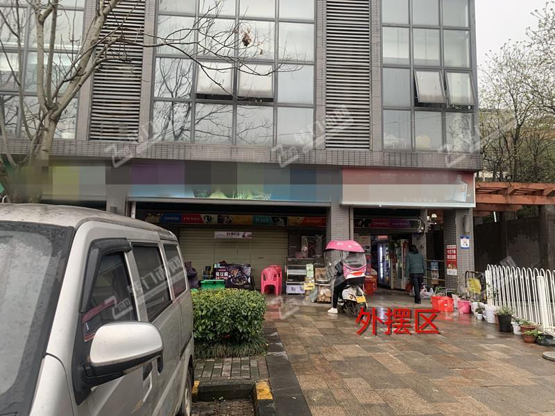 大型成熟社区出入口du家超市转让(可住人)