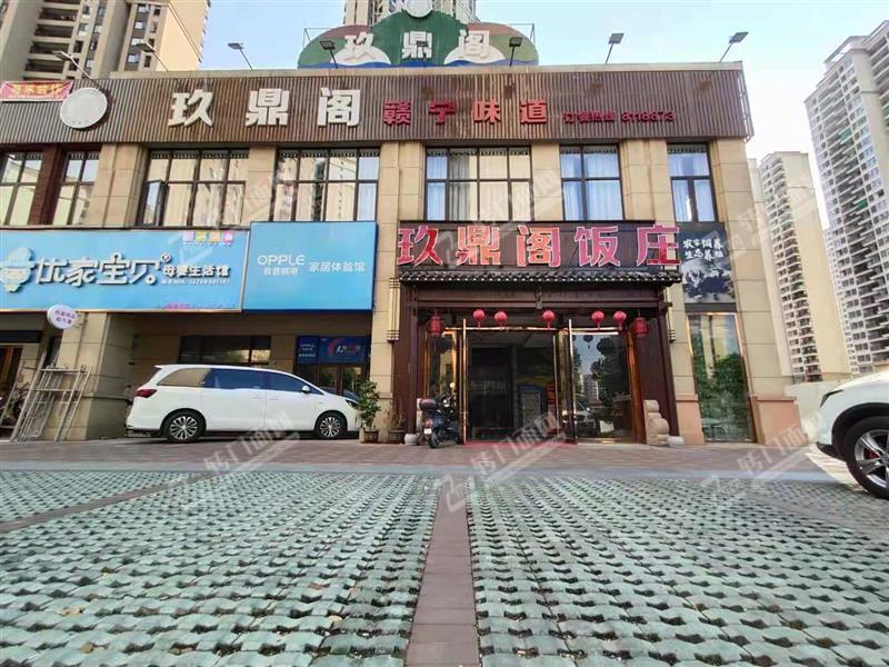 新区独栋大型高端餐厅转让。独立停车位!